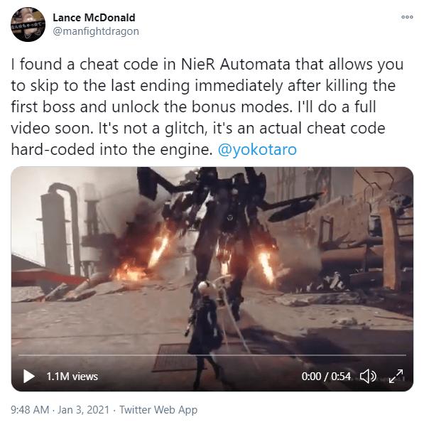 کشف رمز بازی NieR Automata