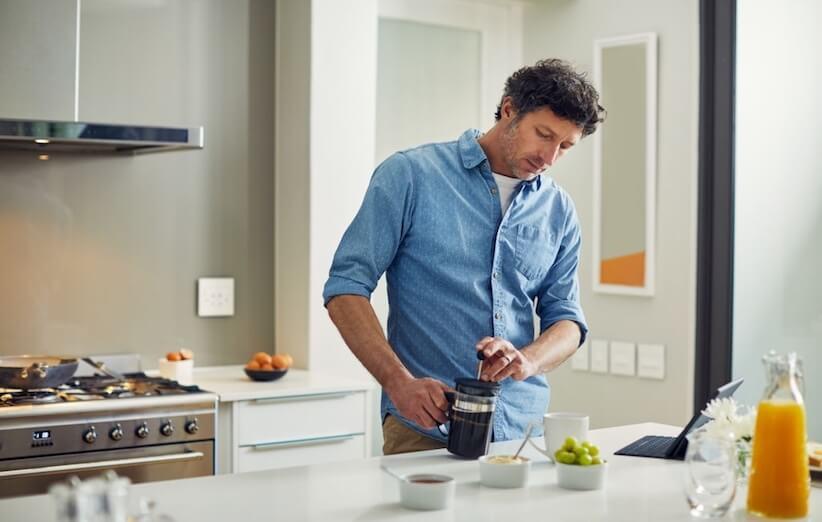 فرنچ پرس - لذت تهیه قهوه در منزل