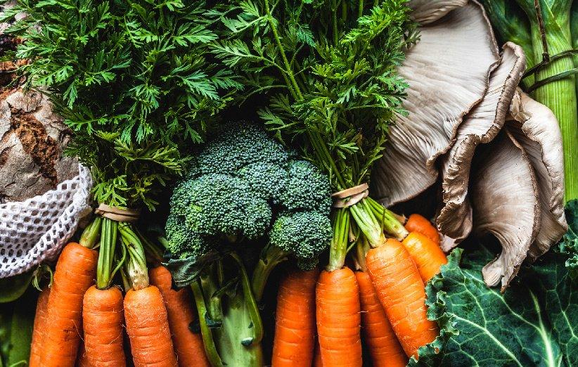 سبزیجات خام مضر به عنوان غذا بعد از ورزش
