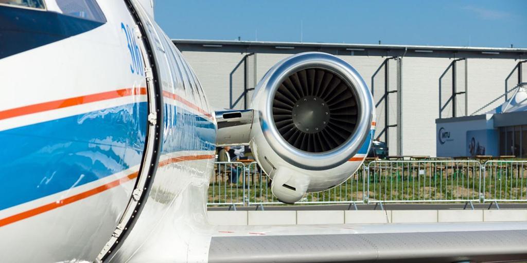 هواپیمای فالکون ۲۰G با موتور هانیول