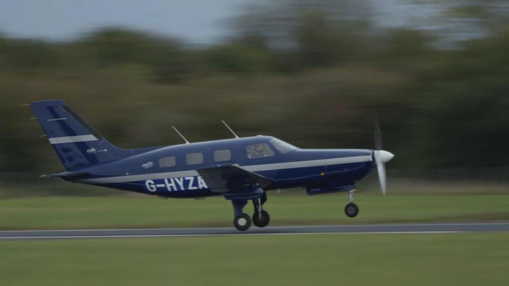 هواپیمای شش نفرهی هیدروژنی شرکت ZeroAvia