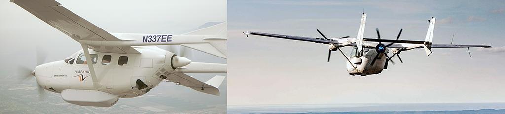 هواپیماهای هیبرید و الکتریکی