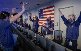 مرکز کنترل ماموریت مریخنورد پشتکار