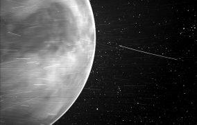 تصویر کاوشگر پارکر از سطح سیارهی زهره