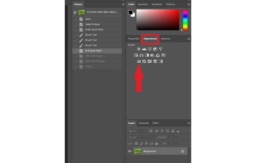تغییر پسزمینهی تصاویر در فتوشاپ
