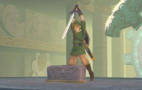 بازی Zelda Skyward Sword HD