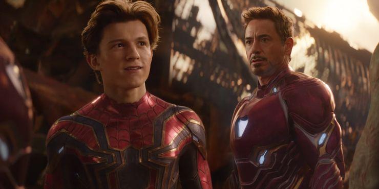 مرد آهنی و مرد عنکبوتی