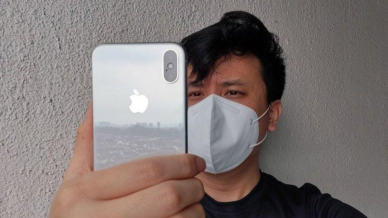 پوشیدن ماسک و استفاده از Face ID