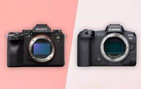 دوربین سونی آلفا 1 در کنار کانن EOS R5