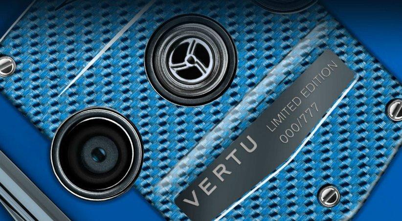 Vertu Constellation Quest Blue