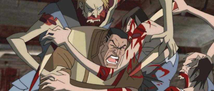 فیلم انیمیشن ترسناک فضای مرده: سقوط