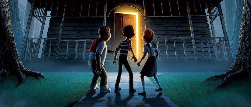انیمیشن خانه هیولا