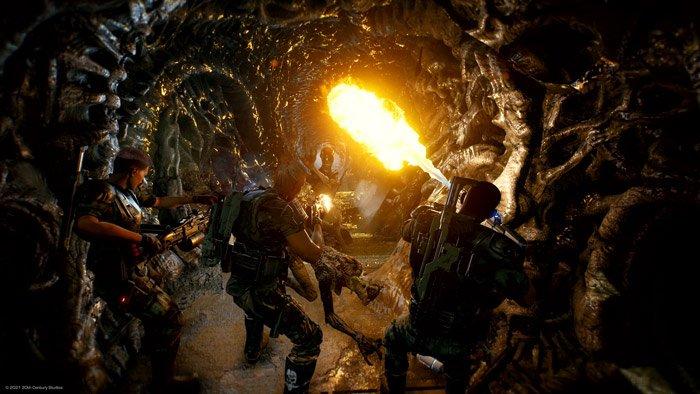 بازی Aliens Fireteam