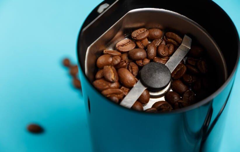 روش آسیاب قهوه - آسیاب تیغهای