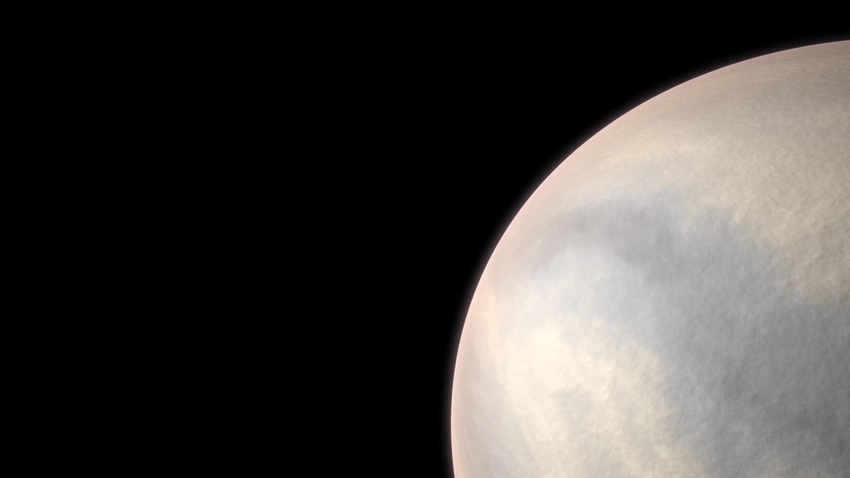 طرحی گرافیکی از سیارهی Gliese 486b