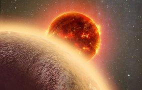 طرحی گرفایکی از سیارهی فراخورشیدی GJ 1132 b