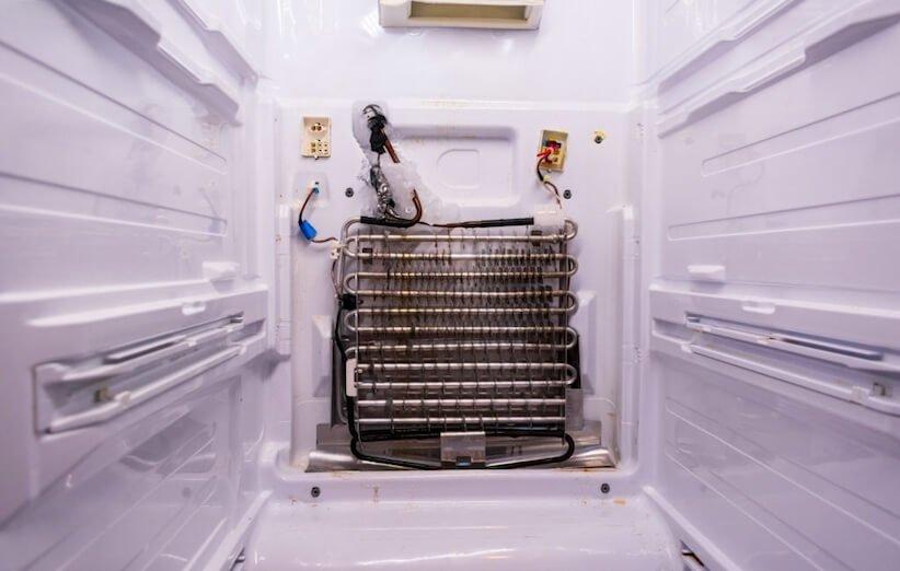 تمیزکاری - سیستم خنککننده یخچال
