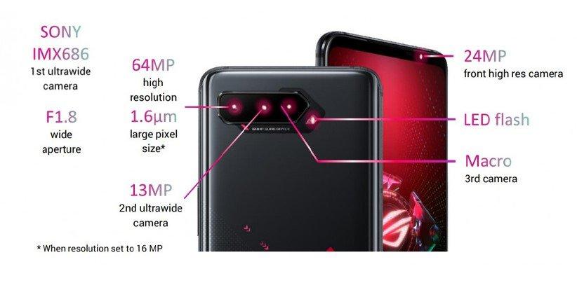 دوربین گوشی ایسوس راگ فون 5