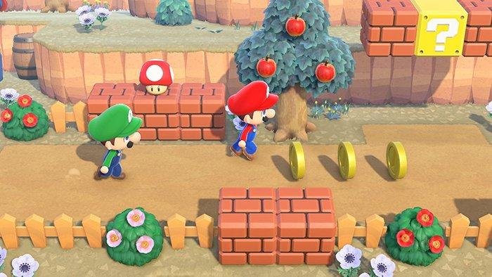 بازی Animal Crossing ماریو