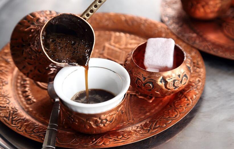 روش آسیاب قهوه - قهوه ترک