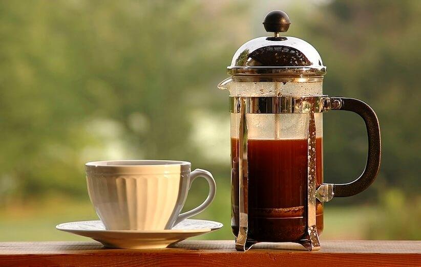 روش آسیاب قهوه - فرنچ پرس