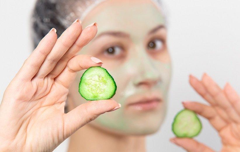 ماسک خیار برای تغذیهی پوست