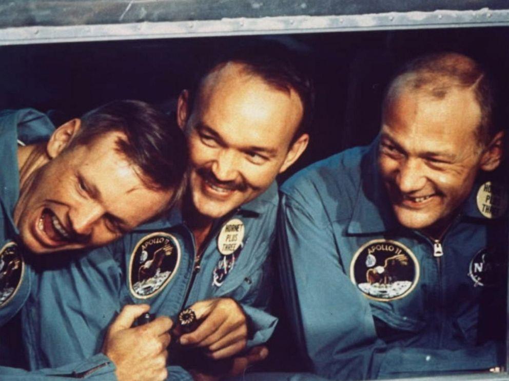 سه فضانورد مأموریت آپولو 11