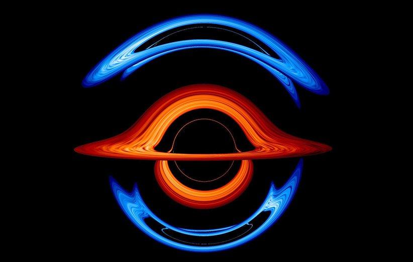جدیدترین شبیهسازی ناسا از سیاهچالههای دوتایی