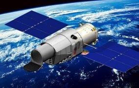 طرحی گرافیکی از تلسکوپ فضایی آیندهی چین