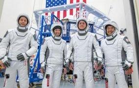 فضانوردان مأموریت کرو-2 ناسا و اسپیسایکس