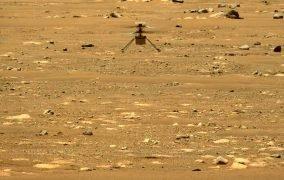دومین پرواز بالگرد نبوغ در جو مریخ