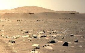سومین پرواز بالگرد نبوغ در مریخ