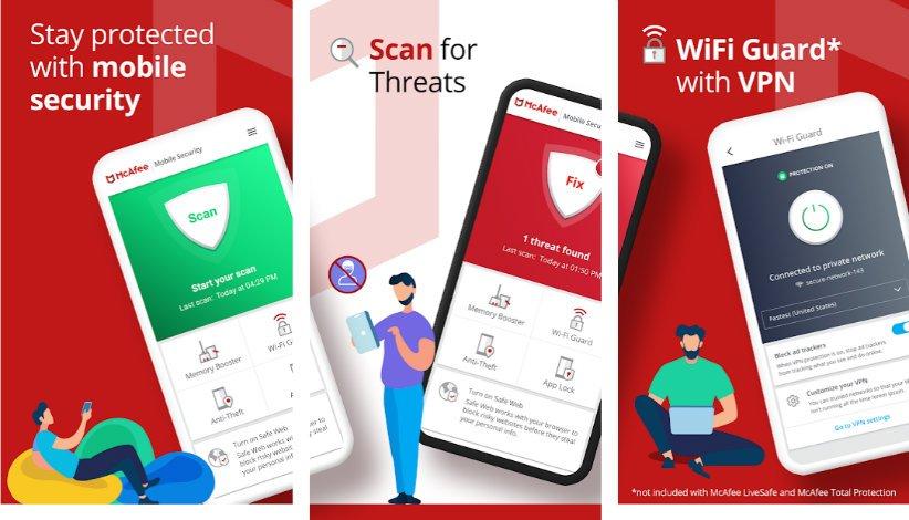 اپلیکیشن آنتی ویروس