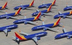 ناوگان زمینگیر شدهی بویینگ 737 مکس در خط هوایی ساوتوست