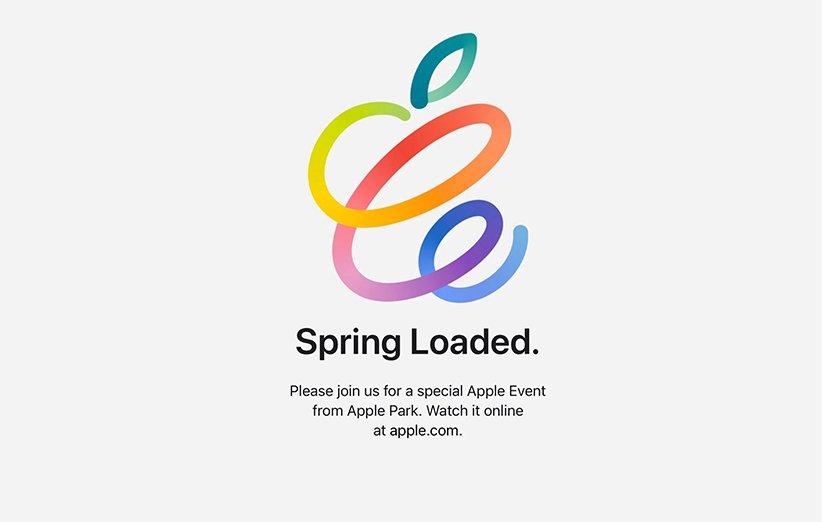 مراسم spring loaded اپل