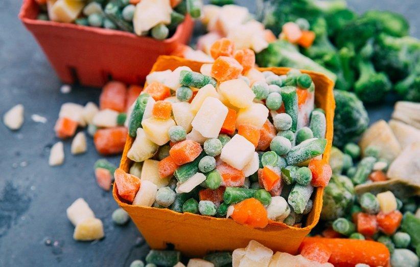 سبزیجات یخزده