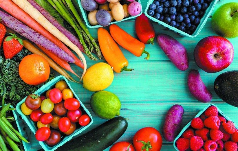 میوه و سبزیجات برای عضلهسازی