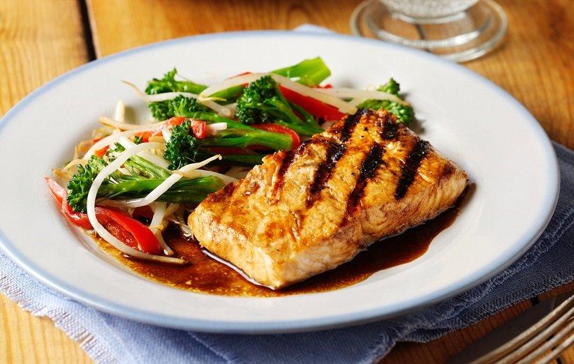 ماهی سالمون حاوی سلنیوم است