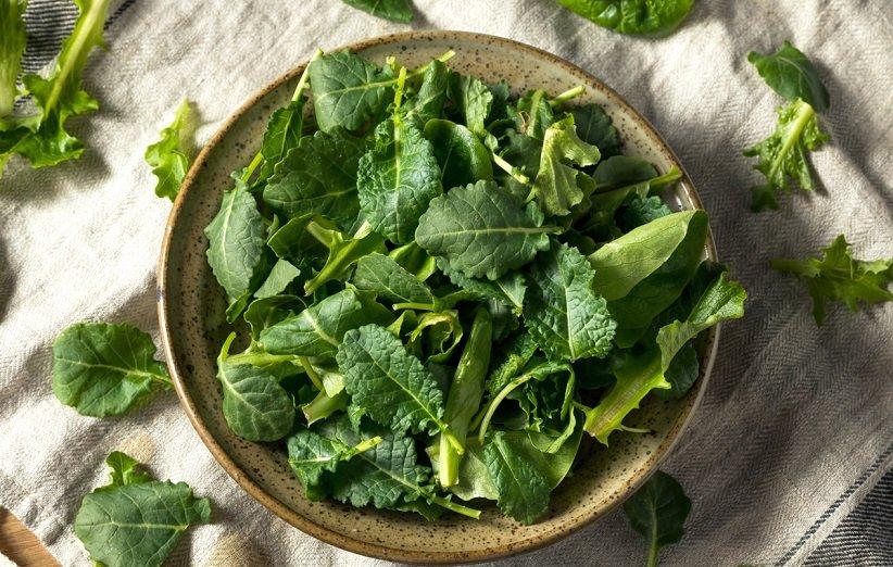 سبزیجات دارای برگ سبز