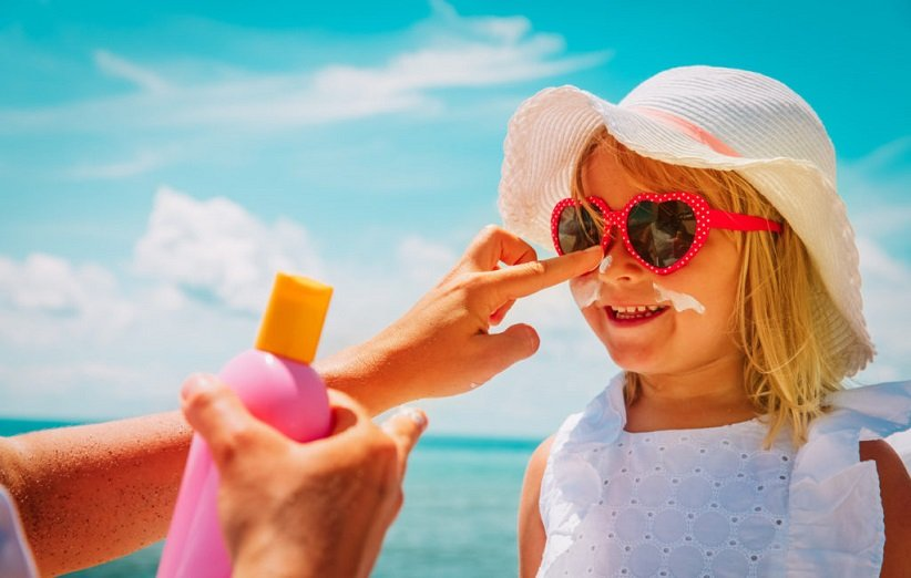 درمان آفتابسوختگی با روشهای خانگی
