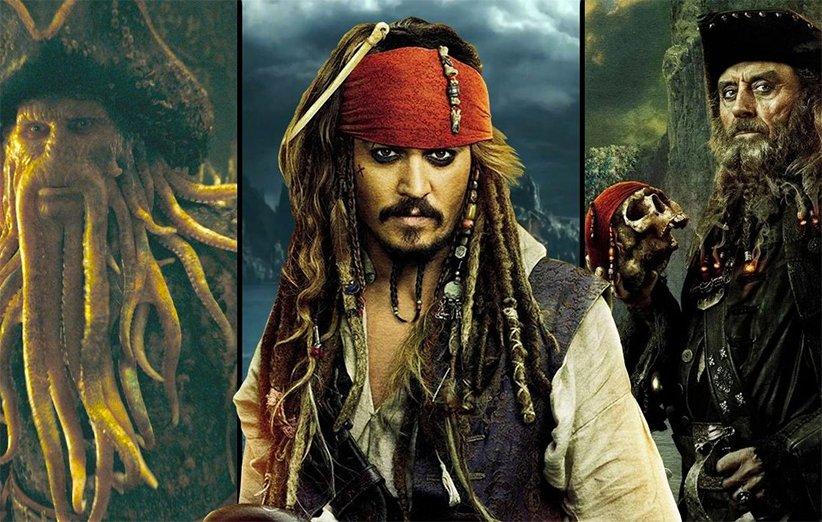 فیلمهای دزدان دریایی کارائیب از بدترین تا بهترین
