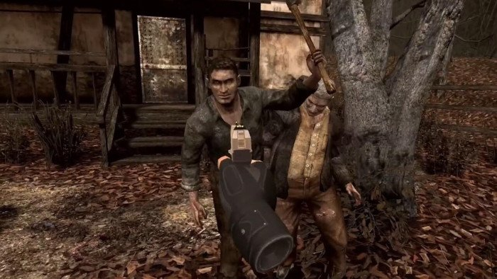 نسخهی واقعیت مجازی رزیدنت اویل 4 (Resident Evil 4)