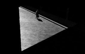عکاسی از سایهها در خیابان
