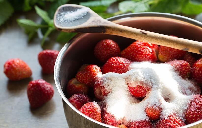 آشپزی با توتفرنگی - مربا