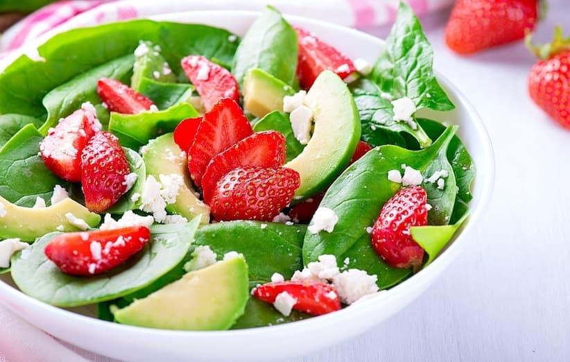آشپزی با توتفرنگی - سالاد