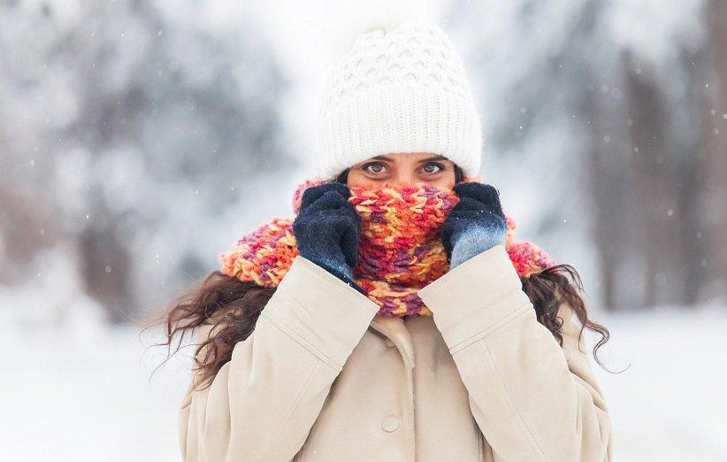 پوشاندن صورت در آب و هوای سرد
