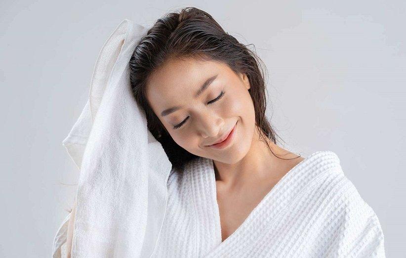 خشک کردن مو در هوای آزاد