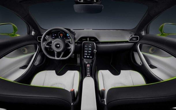 کابین داخلی خودروی سوپراسپرت مکلارن آرتورا 2022