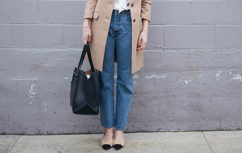شلوار جین مام استایل