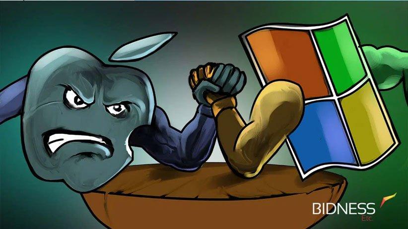 اپل و مایکروسافت